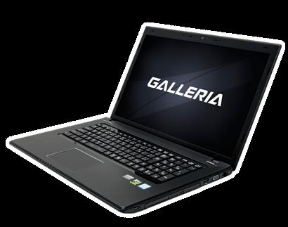 ガレリアQSF960HE(GALLERIA QSF960HE)は高性能を詰め込んだハイスペックノートパソコン