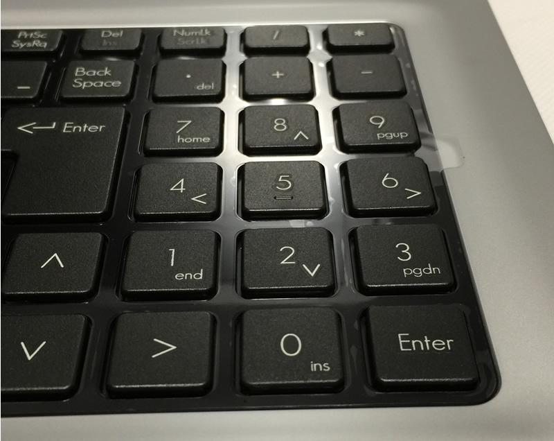 ドスパラCritea DX11-H3キーボード