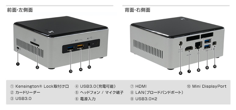 Diginnos Mini NUC-S3H
