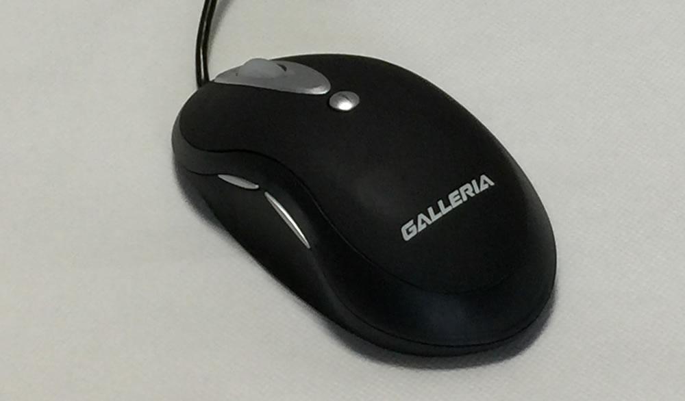 ガレリアXFマウス