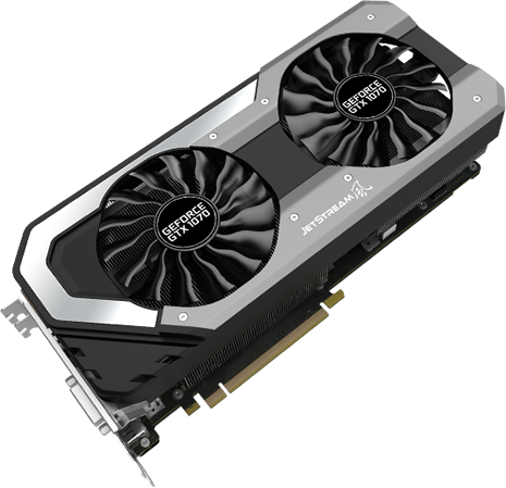 GeForce1070ビデオカード