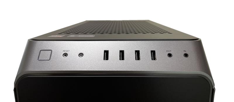ガレリアXA7R-67XTコンソール
